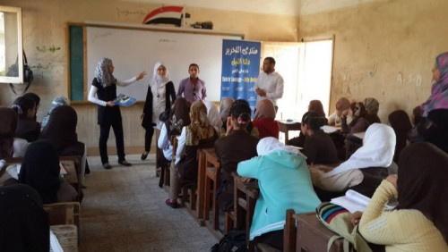 Youth Love Egypt Initiative Awareness Rising of Students and Teachers - School endeavors – Zenarah