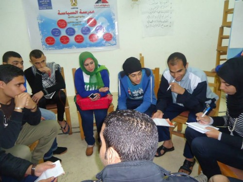 Camp Port Said - the third day - in collaboration with the Ministry of Youth