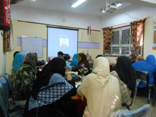 Workshop on reproductive health-city of Shuhada