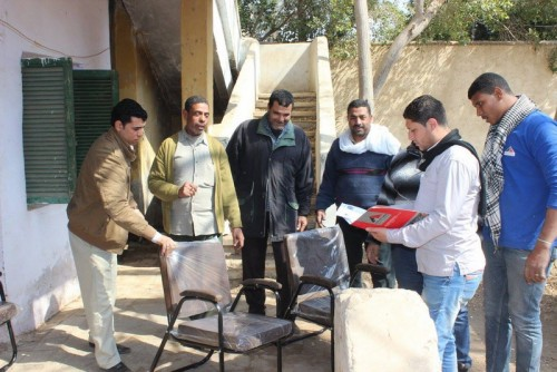 Agricultural and veterinary unit Assembly with Mitt Abu El KOM