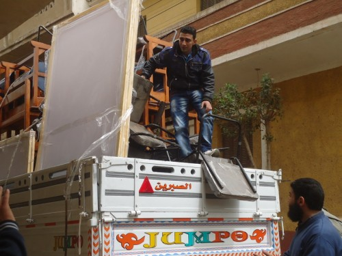 Supplies for Adly Institute in She7ata village