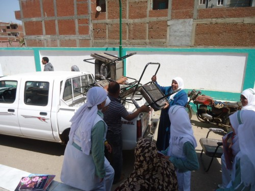 Nurses Department Supplies for Tala Local Hospital