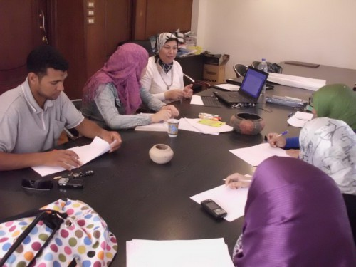 Capacity building team work and training on strategic planning and the preparation of a strategic plan for the Association