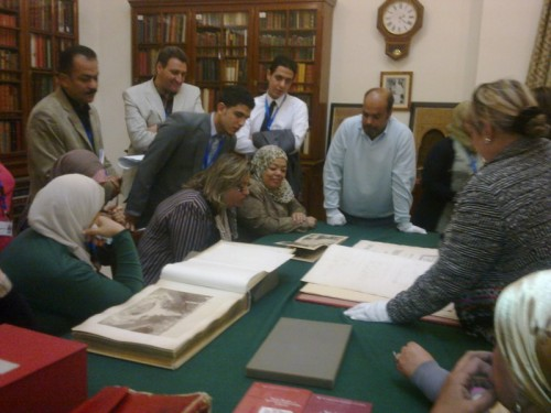 Field trip: AUC Library Visit