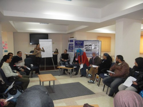 My Egyptian Culture Training -the first day