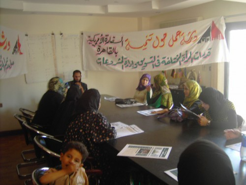 Workshop on women employment – between supporters and opposers