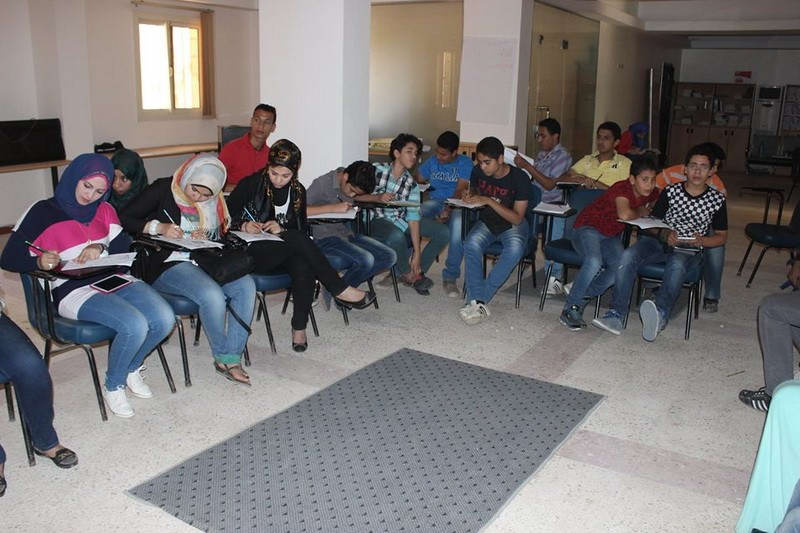 The second training workshop