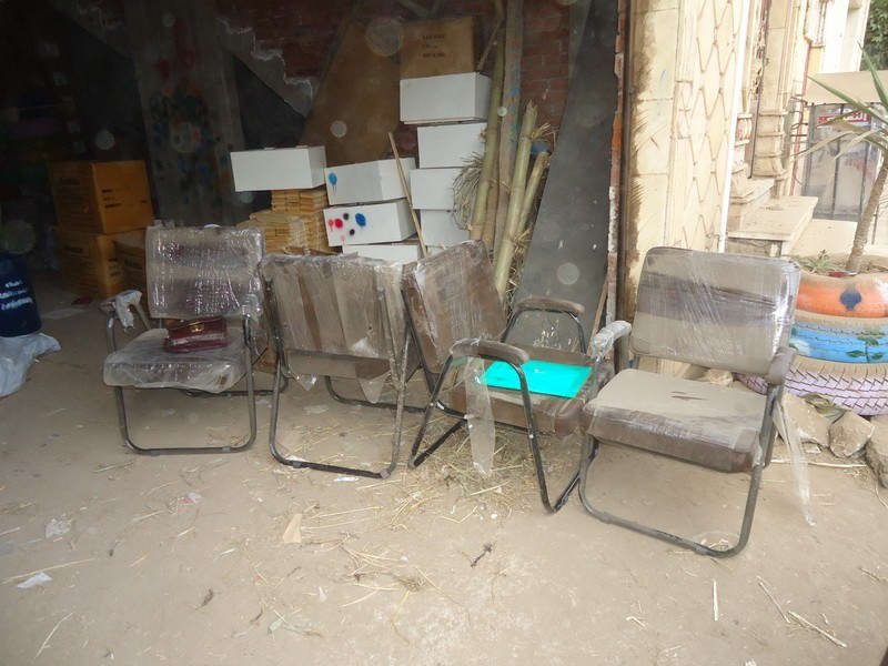 Supplies for class rooms in Zorqan Prepratery School