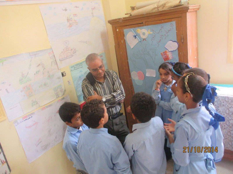 Visit the province of Qena Schools