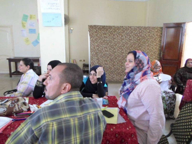Professional development training in Shohadaa - Menofia