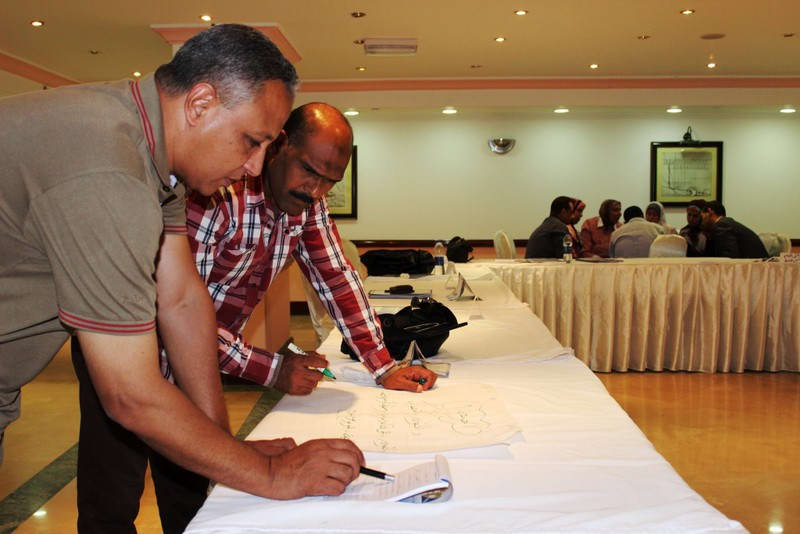 Training of trainers for the Ministry of Solidarity's staff