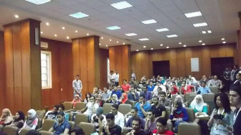 Tahrir Lounge and Enactus- elmonofya - Opening Day