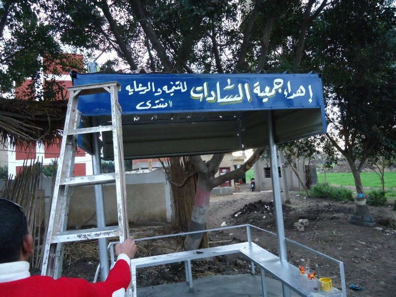 El Sadat Association for Social Development and Welfare Initiative – Beauty and decorate City and the villages of martyrs
